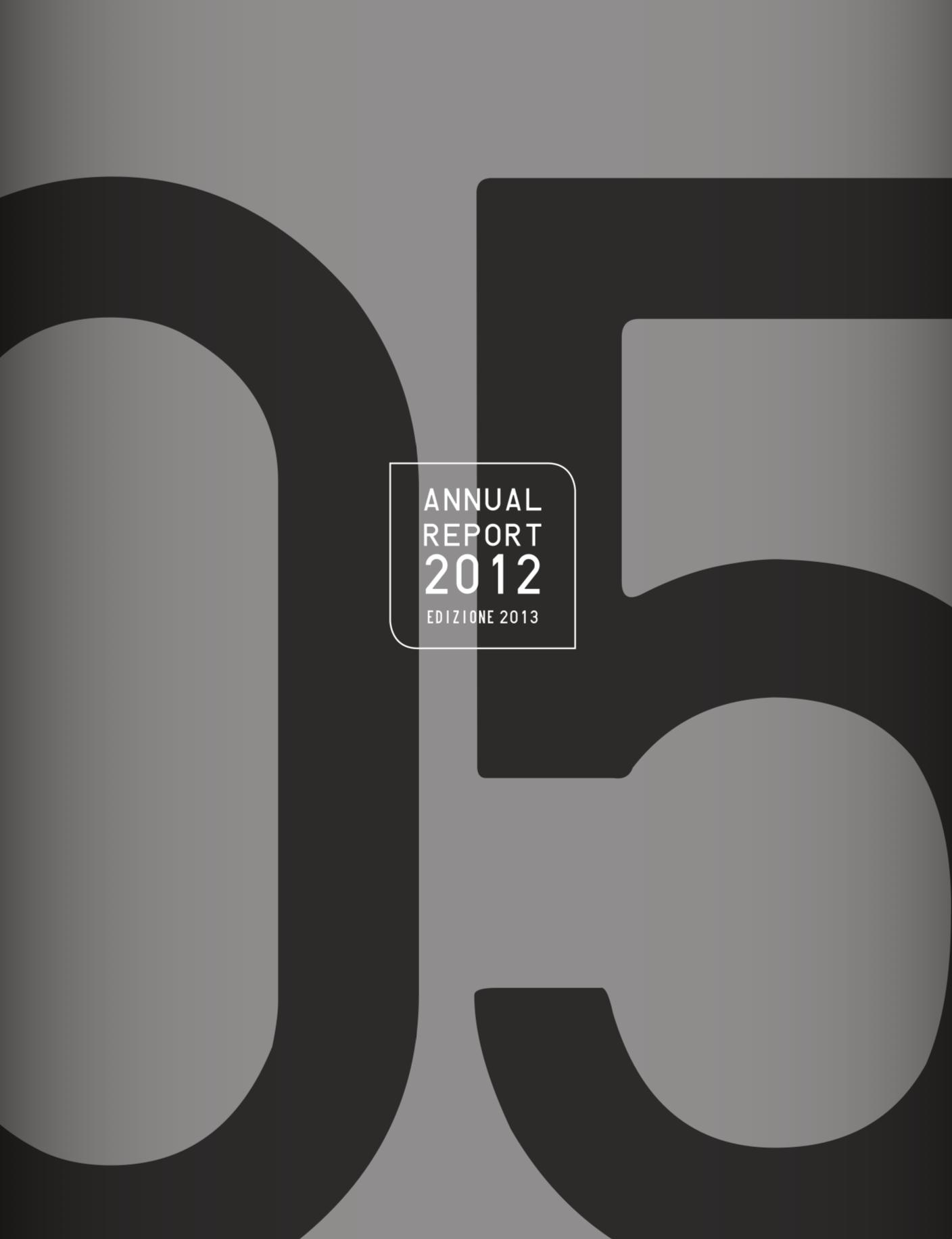 Annual Report 2012 (ed. 2013)