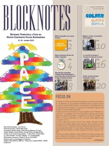Block Notes - 16 (dic. 2015)