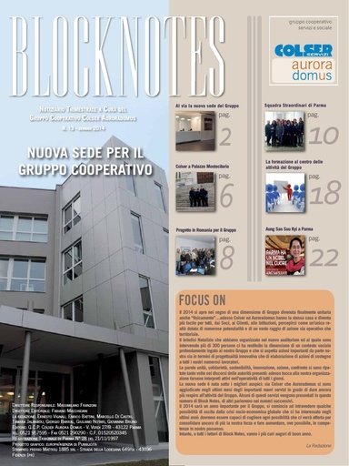 Block Notes - 13 (gen. 2014)